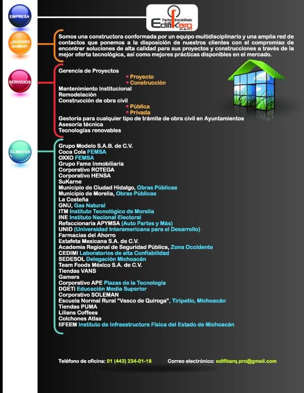 Información factor Inmobiliario EDIFIKARQ 02